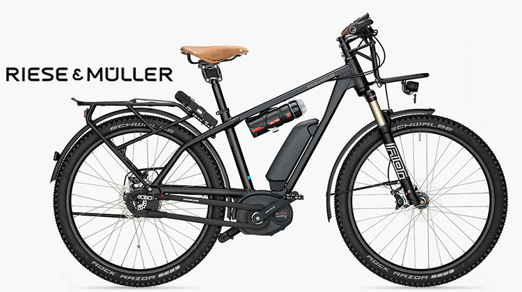 L'ebike Riese & Müller Charger GX Rohloff nera