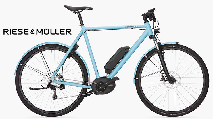 Una ebike Riese&Müller Roadster Touring