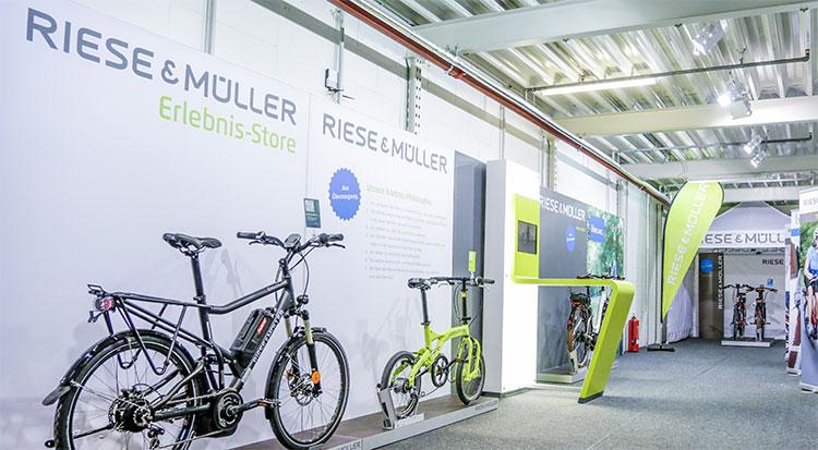 La sede Riese&Müller di Weiterstadt, vicino a Darmstadt.