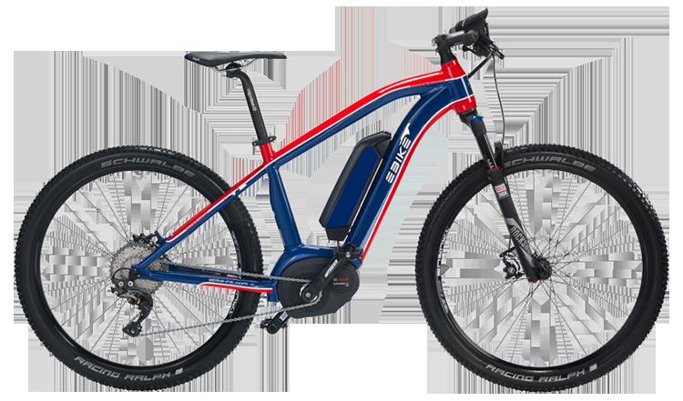 Modello emtb dell'azienda Das Original, una mountain bike elettrica tedesca
