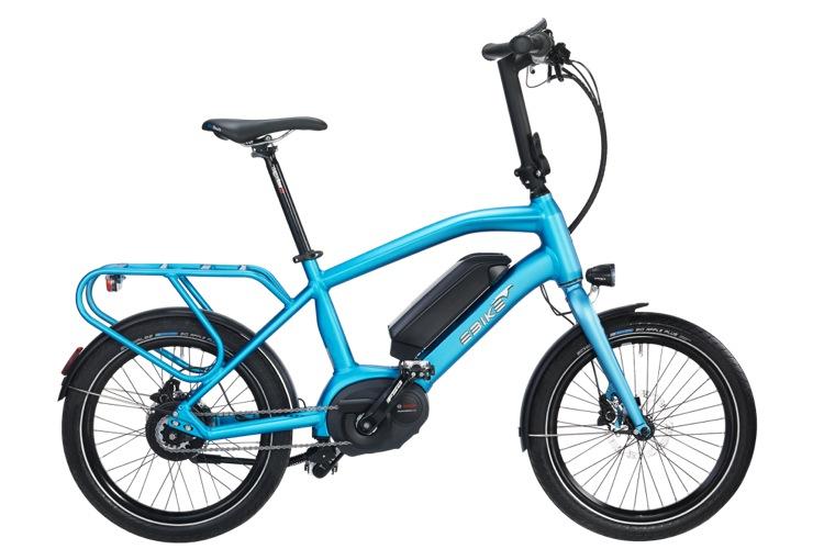 Modello Urban ebike da città con ruote da 20 pollici, ebike compatta. Una bici elettrica compatta molto agile.