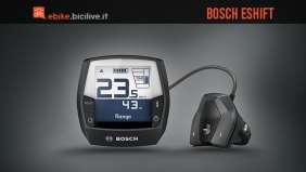 Bosch eShift: cambio marcia integrato con NuVinci, Shimano e SRAM