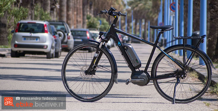 La bicicletta a pedalata assistita Brinke Rushmore è disponibile in differenti versioni
