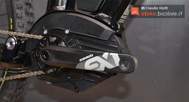 Le pedivelle SRAM EX1 E-Crank