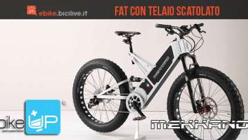 La mountain bike elettrica Fat di Mekkano Bike