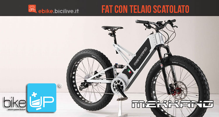 La mountain bike elettrica Fat di Mekkano Bike