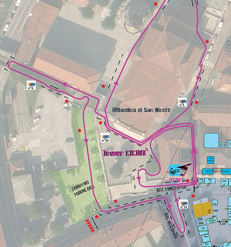 Il percorso della gara di UpHill a Lecco del 21 maggio 2016