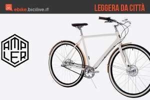 Le biciclette elettriche a pedalata assistita leggere e per la città di Ampler