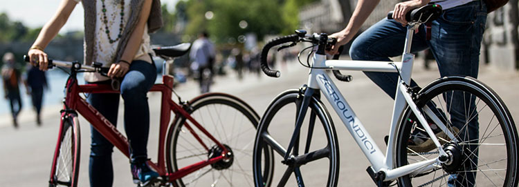 Biciclette a pedalata assistita Zeroundici con manubri Deda