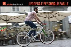 Zeroundici bici elettrica a pedalata assistita leggera e personalizzabile
