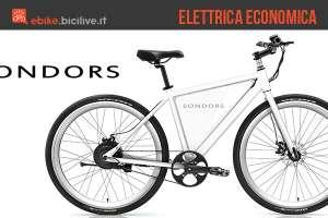 Sondors Thin, la bicicletta elettrica a pedalata assistita economica