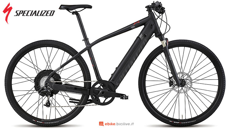 Una city bike elettrica Specialized Turbo X