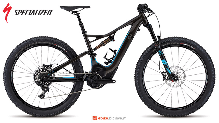 Una eMTB Specialized Turbo Levo FSR Expert 6 Fattie