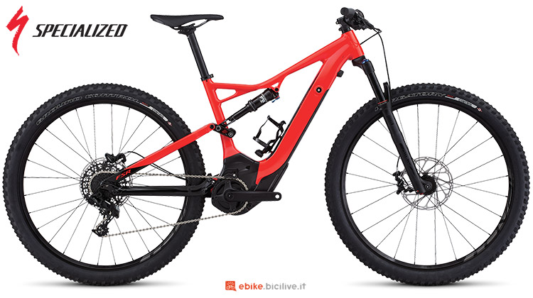 Una ebike Turbo Levo FSR Short Travel 29 di Specialized