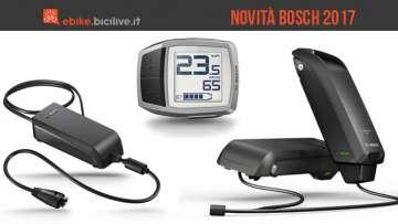 caricabatteria ridotto, batteria doppia e computer purion sono le novità Bosch per il 2017