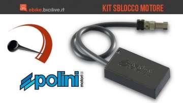 Kit Polini Hi Speed per sblocco motore bici elettriche a pedalata assistita