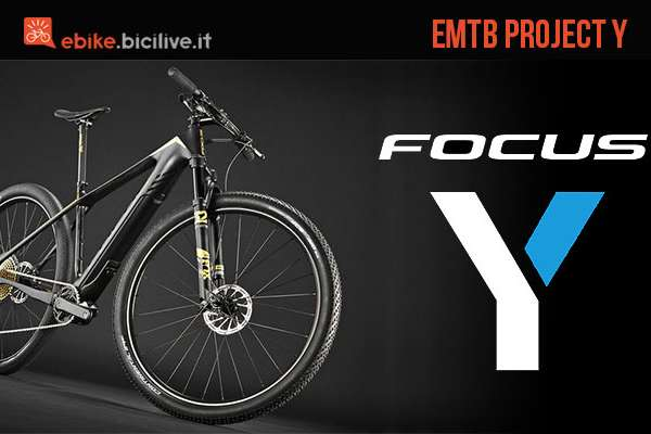 La mountain bike elettrica leggera per il 2017 Focus Project Y