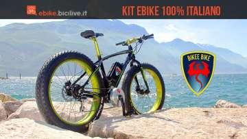 Bikee Bike, il kit di trasformazione bici elettrica con 120 Nm di coppia