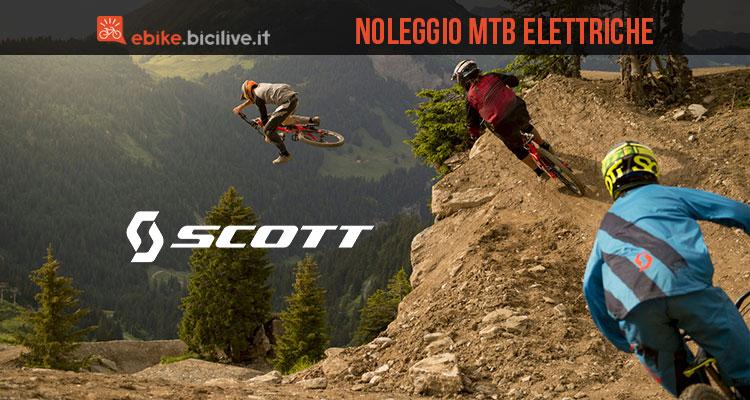 Scott Rental Service per noleggiare mtb ed eMTB Scott