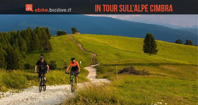 un weekend in ebike sull'Alpe Cimbra tra Folgaria, Lavarone e Luserna