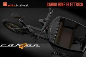 carQon: la cargo bike elettrica del futuro