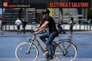 Uno studio scientifico americano afferma che pedalare in bici elettrica migliora la salute