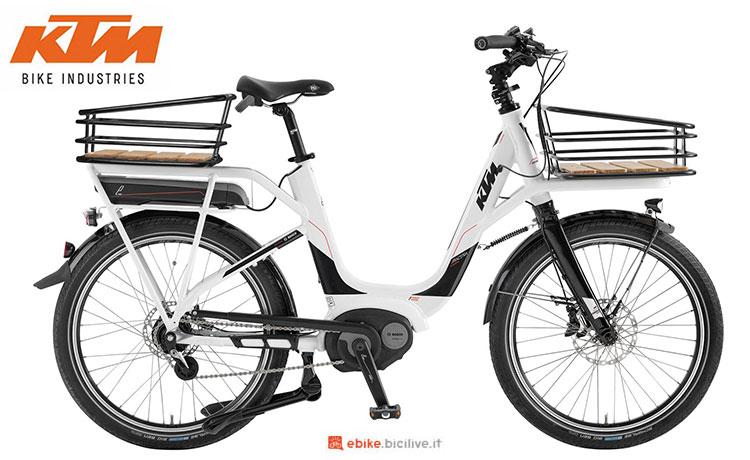 La cargo bike elettrica KTM Macina eShopper 2017