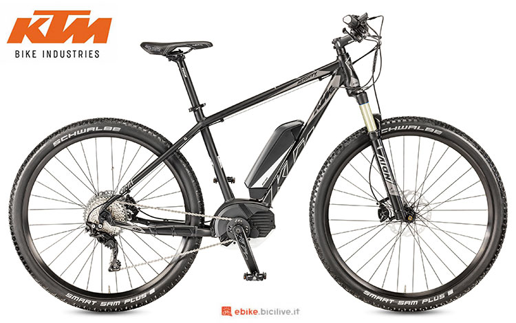 Una mountain bike elettrica Macina Mighty 291 del 2017