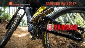Il nuovo motore per ebike Yamaha PW-X 2017