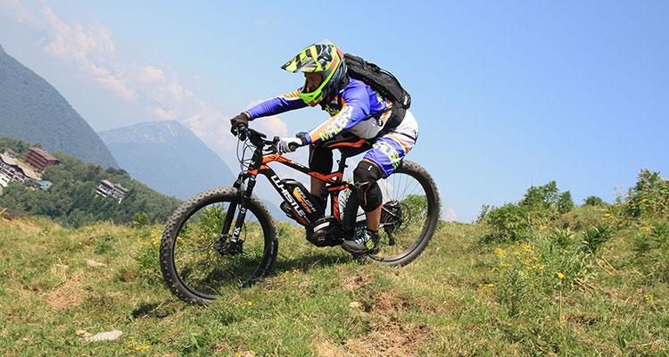 Whistle produce principalmente mountain bike elettriche
