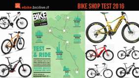 bike shop test 2016 prova biciclette a pedalata assistita a Milano, Bologna e Roma