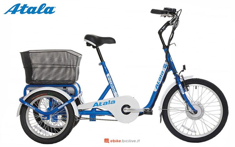 La bicicletta da trasporto merci elettrica Atala E-Cargo 2017