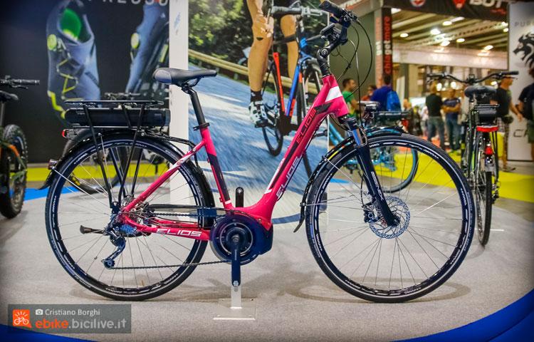 La bicicletta a pedalata assistita Elios Unica