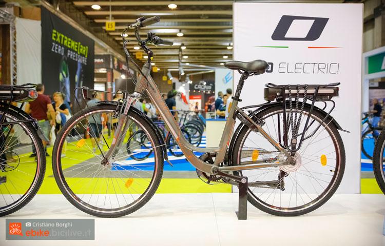 La bici a pedalata assistita italiana Olympia Energy 700C