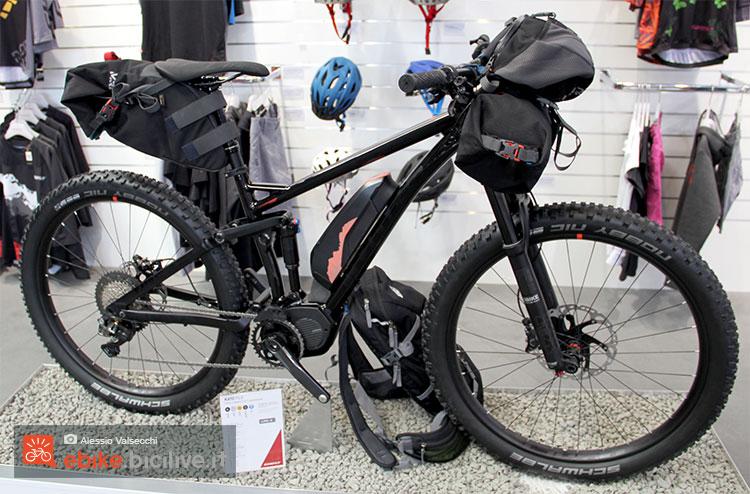 La eMTB 2017 biammortizzata Ghost Kato FS 8 vista a Eurobike 2016