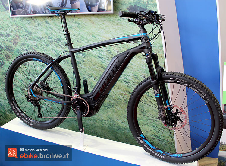 La mountain bike elettrica hardtail Giant Dirt-E+ 0 vista a Eurobike 2016