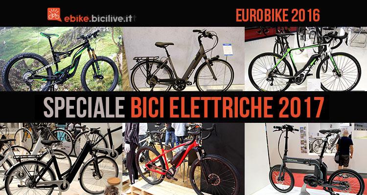 Eurobike 2016: speciale bici elettriche 2017