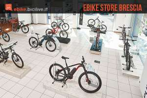 ebike store brescia con vendita noleggio e assistenza bici