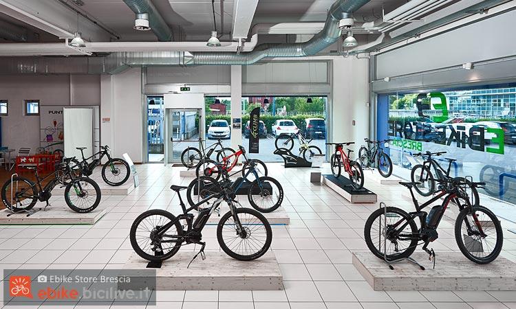 Ebike store brescia vendita e noleggio e mtb e bici for Noleggio cabina julian dal proprietario