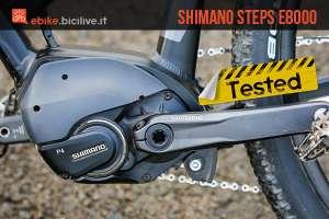 oto del motore per emtb shimano steps e8000