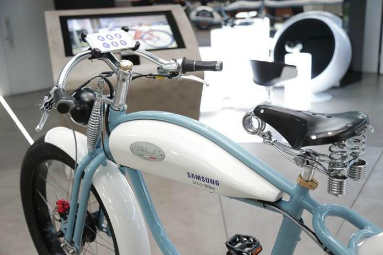 SmartBike di Samsung e Italjet