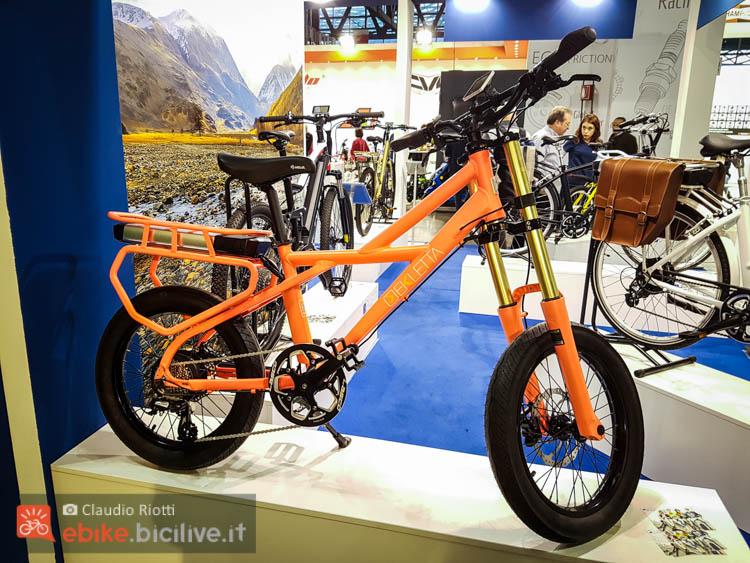 foto della Ekletta Naked, bici elettrica urban