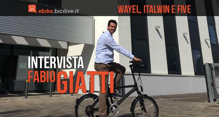 fabio giatti di Five in bicicletta nell'headquarter di Bologna