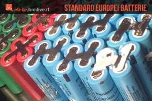 Nuovi standard europei per le batterie per bici elettriche
