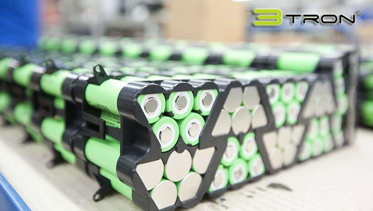 Un pacco batterie 3tron di BMZ