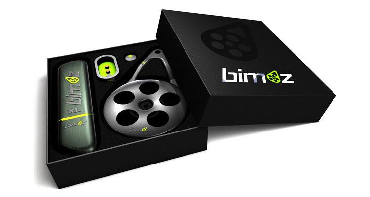 La confezione di vendita del kit Bimoz