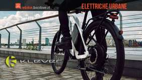 Bici elettriche a pedalata assistita Klever serie X per la città