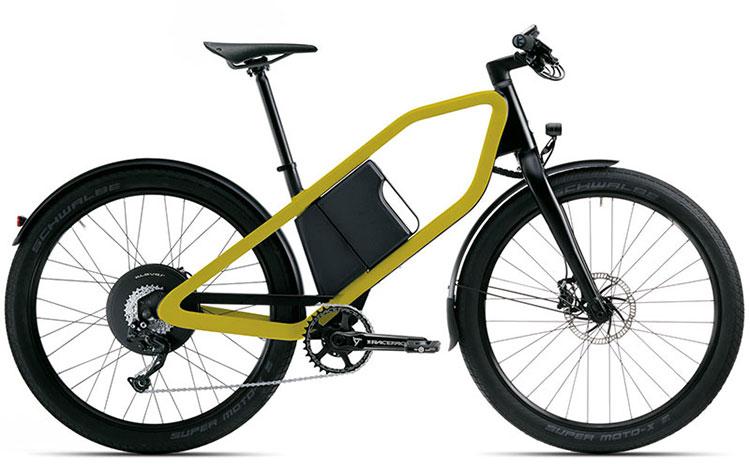 Una bici elettrica Klever X Limited Edition