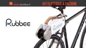 Il kit di conversione ebike Rubbee