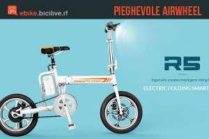 Airwheel R5, una bici elettrica pieghevole compatta e smart